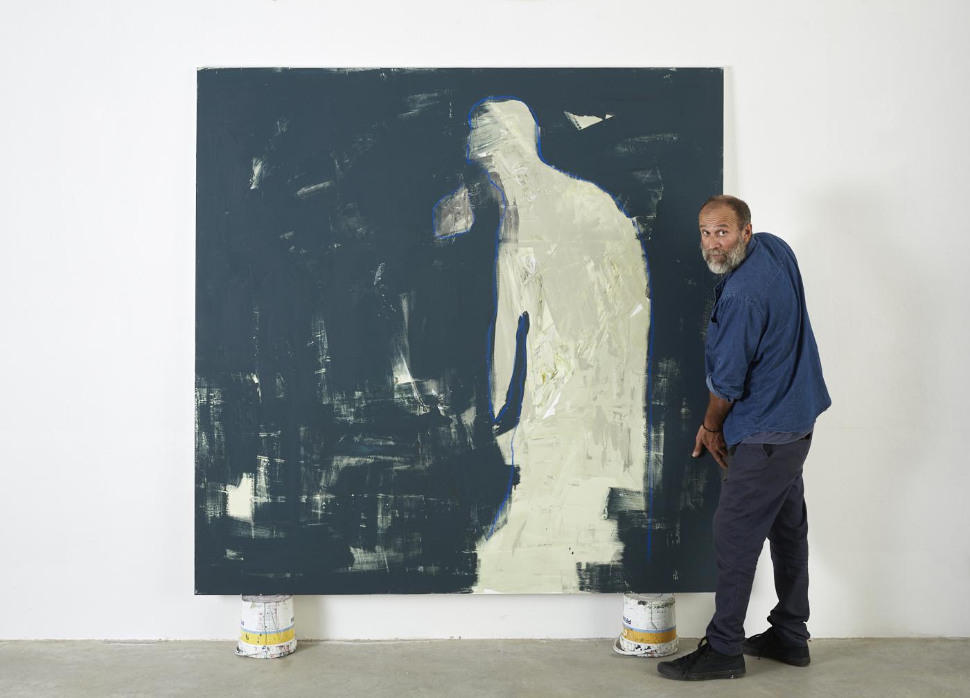 Paolo Loschi italian contemporary painter portrait